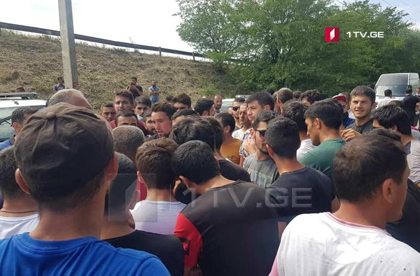 Slider-Qaracalar kəndində aksiya keçirilir - VİDEO