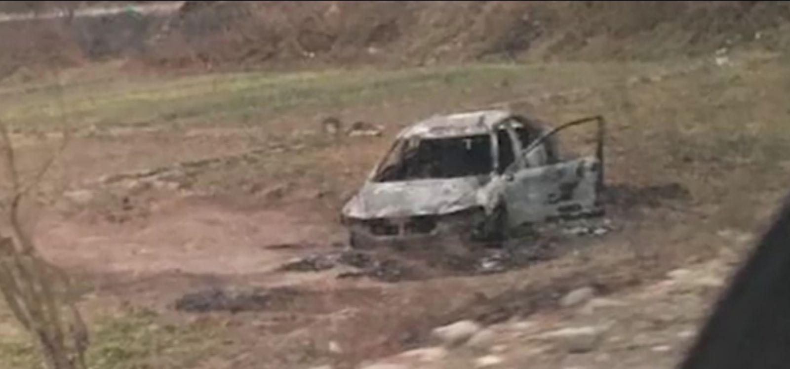 Slider-Qardabaninin Qaracalar kəndində daha bir hadisə baş verdi - Yanmış avtomobildə cəsəd tapıldı - FOTO