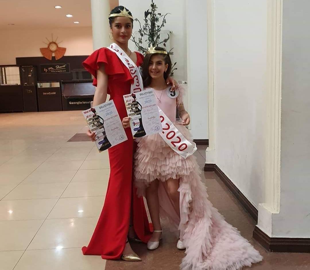 """Slider-Gürcüstan üzrə """"Miss Barbie 2020"""" yarışmasının qalibi Məryəm Məmmədova oldu- FOTO"""