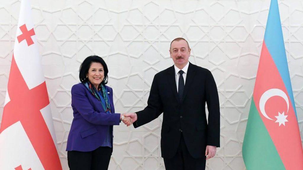 Slider-Gürcüstan prezidenti Salome Zurabişvilidən İlham Əliyevə təbrik məktubu