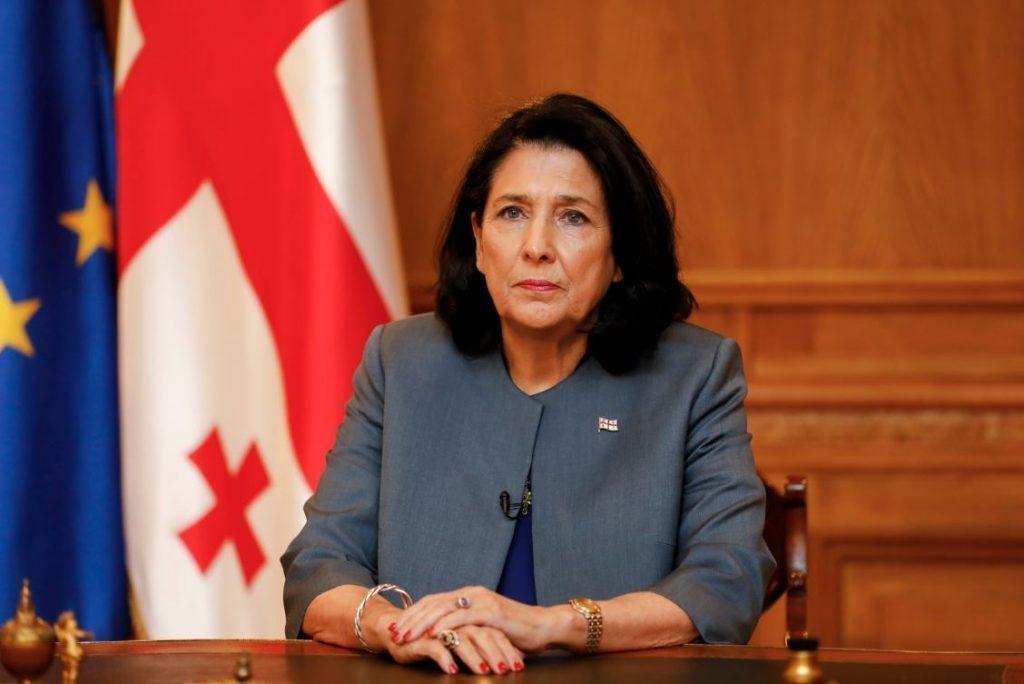 Slider-Gürcüstan prezidenti Azərbaycan-Ermənistan arasındakı gərginliyə münasibət bildirdi